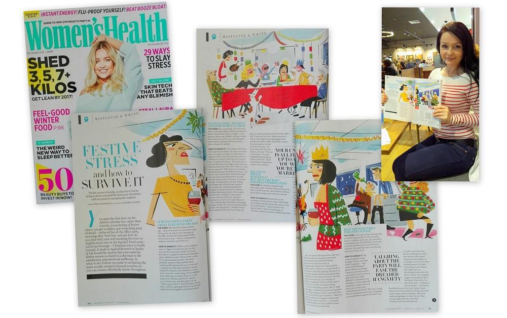 'Women's Health' National Monthly Magazine, December Issue